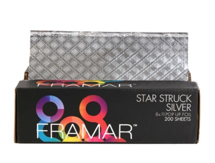 8x11 Star Struck Silver Foil 200Sheets