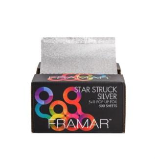 5X11 Star Struck Silver Foil Lgt 500SH