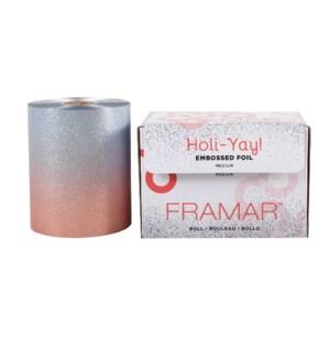 Foil It Holi-YAY! Roll Embossed Medium Foil ND19