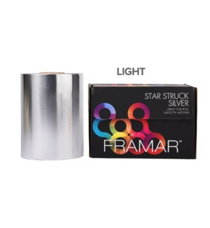 ETA DEC 15 Large Smooth Roll Star Struck Silver Light Foil CNBO R-LRG-LSIL