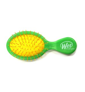 MINI Squirt Green MANDALA Wet Brush