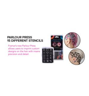 Foil It Parlour Press Stencils 15pc MA2020