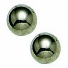 Titanium 4mm Ball Long Post EARRING