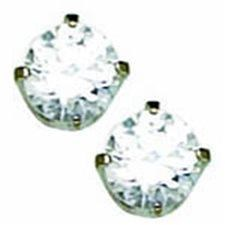 PP 5mm Cubic Zirconia CZ EARRING