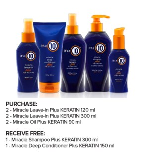 ! ITS A TEN Keratin Collection Intro