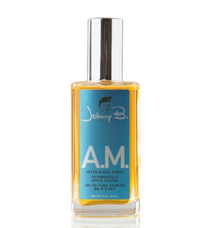 *BF JOHNNY B A.M. AFTER SHAVE SPRAY 3.5oz