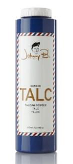 JOHNNY B BARBER TALC 7oz