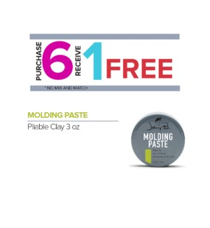 ! 6+1 JOHNNY B MOLDING PASTE  3oz ONGOING