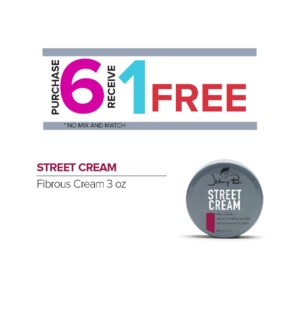 ! 6+1 JOHNNY B STREET CREAM 3oz ONGOING
