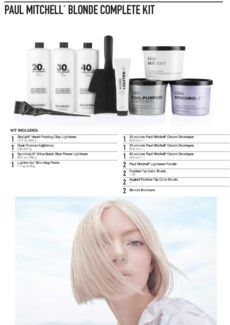 Blonde Complete Kit PM