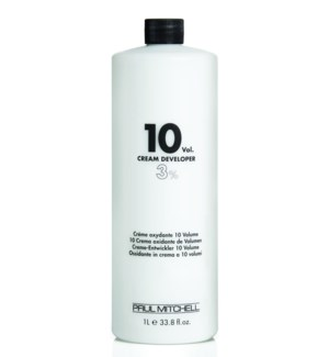 Litre 10 Volume Cream Developer PM 33.8oz
