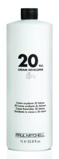 Litre 20 Volume Cream Developer PM 33.8oz