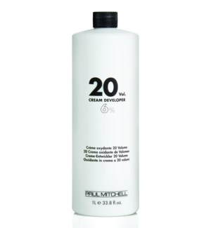 Litre 20 Volume Cream Developer PM 33.8oz
