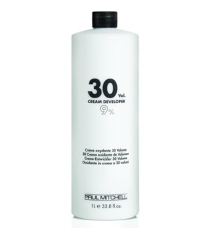Litre 30 VolumeCream Developer PM 33.8oz