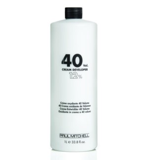 Litre 40 Volume Cream Developer PM 33.8oz