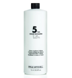 Litre 5 Volume Cream Developer PM 33.8oz