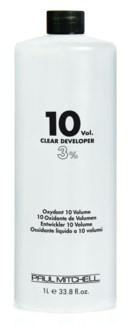 Litre 10 Volume Clear Developer PM 33.8oz