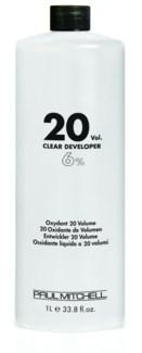 Litre 20 Volume Clear Developer PM 33.8oz