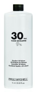 Litre 30 Volume Clear Developer PM 33.8oz