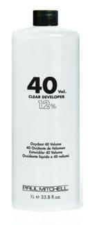 Litre 40 Volume Clear Developer PM 33.8oz