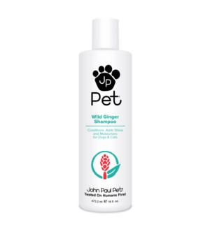 PET 500ml Wild Ginger Shampoo 16oz
