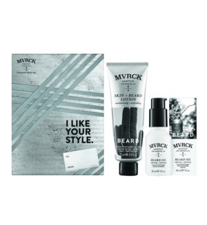 * MVRCK One Of A kind Beard Gift Set HD19