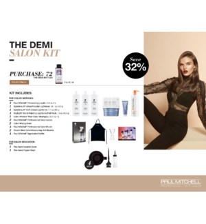 The Demi Salon Kit  (1 BOX ) & CUSTOMER CHOOSE 60 COLOR