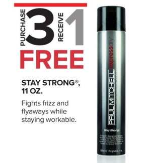 ! 3+1 300ml Stay Strong Express MA2020