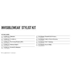 INVISIBLEWear Stylist Kit 2019 PM