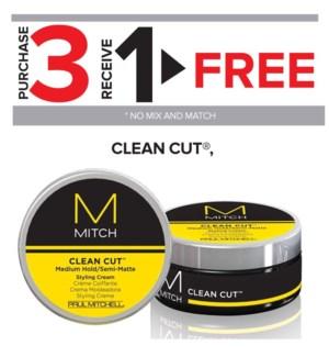 ! 3+1 Mitch Clean Cut MA2020