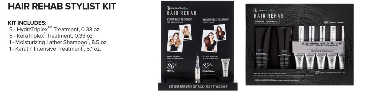 AWG Hair REHAB Stylist Kit MA19