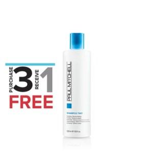 ! 3+1 500ml Clarifying Shampoo Two SO19