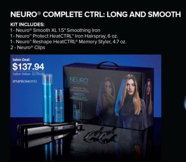 * NEURO Complete CTRL Long & Smooth Kit MA19