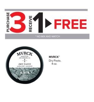 !  3+1 MVRCK Dry Paste, 4 oz MA2020