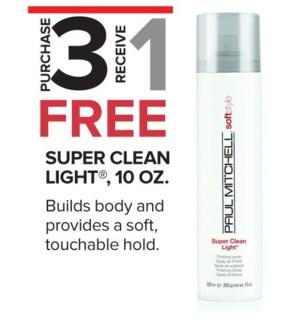 ! 3+1 Super Clean Light Finish Spray MA2020