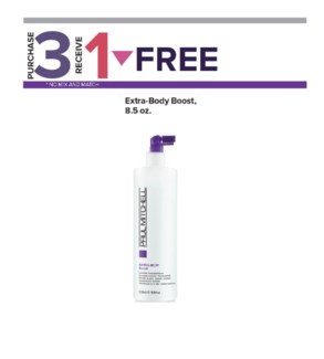! 3+1 Extra Body Daily Boost MA19