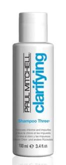 100ml Shampoo Three PM 3.4oz