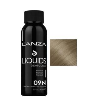 90ml 09N DEMI GLOSS Light Natural Blonde LNZ