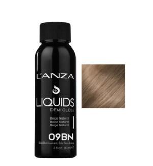 90ml 09BN DEMI GLOSS Light Beige Blonde LNZ