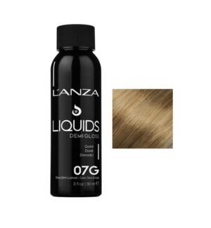 90ml 07G DEMI GLOSS Dark Gold Blonde LNZ