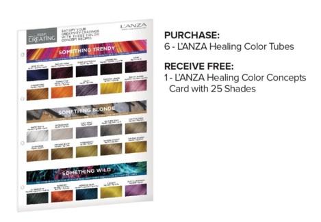 * ! LNZ Color Concept Card BUY6COLOR JF19
