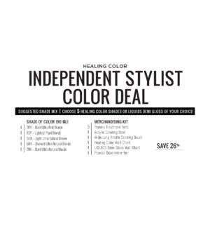 ! LNZ INDEPENDENT Stylist Color Deal 2021 CHOOSE 6 COLOR OR DEMI