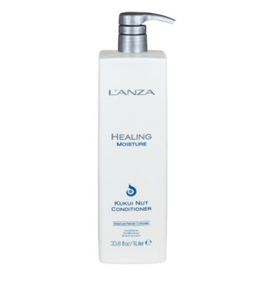 ETA MAR 8/2021 Litre LNZ Healing Moisture Kukui Nut Conditioner