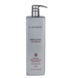 Litre LNZ Healing Colorcare Silver Brightening Shampoo.