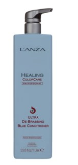 Litre LNZ Healing ColorCare Ultra De Brassing Blue Condition