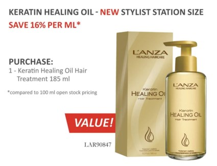 185ml LNZ KHO Hair Treatment