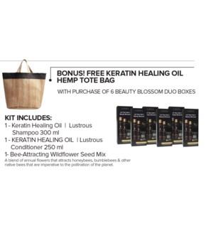 ! LNZ KHO Hemp Tote Bag BUY 6 Blossom Kits MA2020