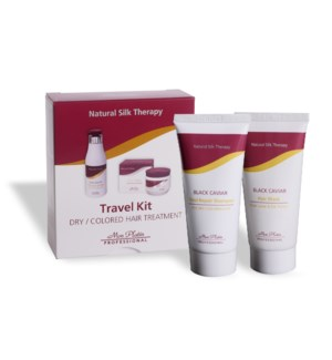 MP Travel Kit Straight Shamp And Black Caviar Mask DIRECT SHIP