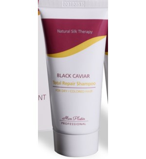 MP Dry Coloured 100ml Black Caviar Total Repair Shampoo DIRECT SHIP