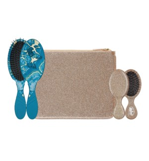 WB GLITTER AND GO WET BRUSH SET - GOLD HD19